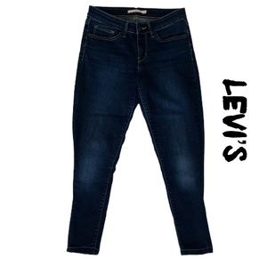 Levi's 711 Skinny Ankle Crop Jeans Size 27